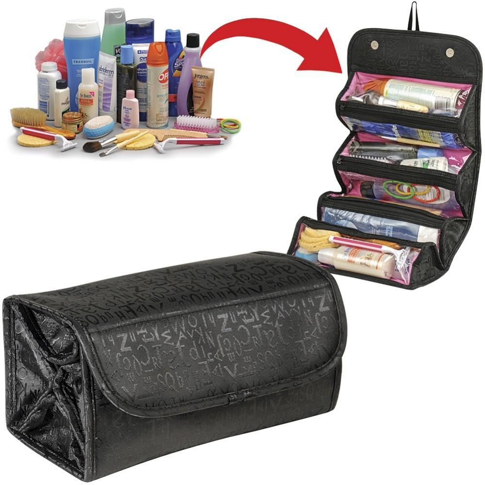 Organizzatore cosmetici porta trucchi cosmetic bag pochette borsetta organizer maquillage