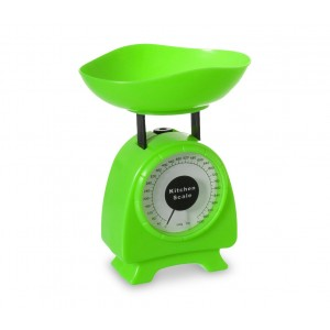 803503 Piccola bilancia analogica da cucina fino ad 1 KG  in diversi colori