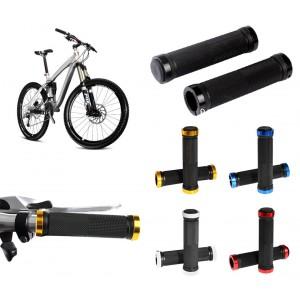 300125 Coppia di manopole di ricambio per bicicletta MTB impugnatura antiscivolo