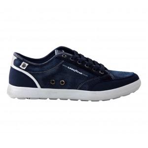 GY71071 BLUE Sneakers da uomo GOODYEAR colore blue mod. Jeans dal 40 al 45