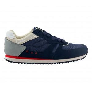 GY61042-D N-BLUE Sneakers da uomo GOODYEAR colore blu e grigio mod. Mitho