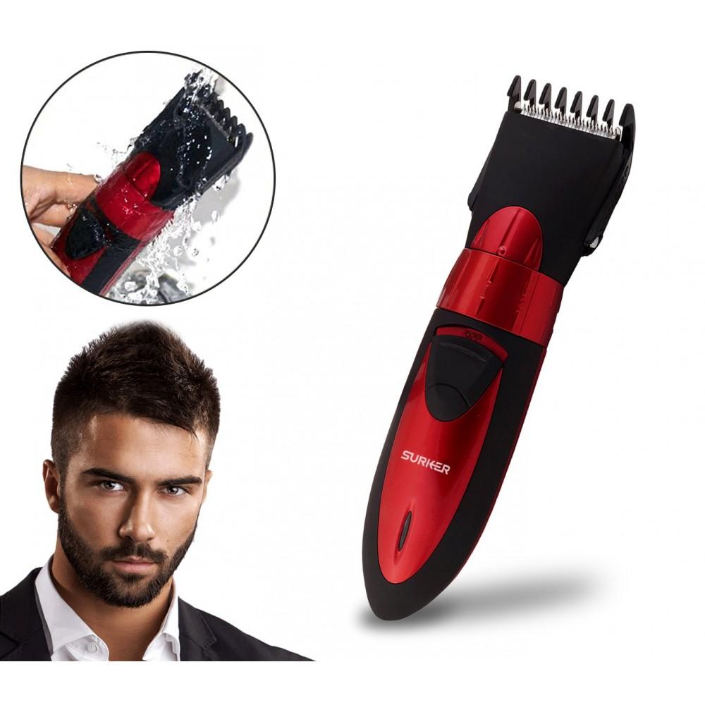 HC-7068 Tagliacapelli e barba batteria ricaricabile utilizzabile anche in doccia