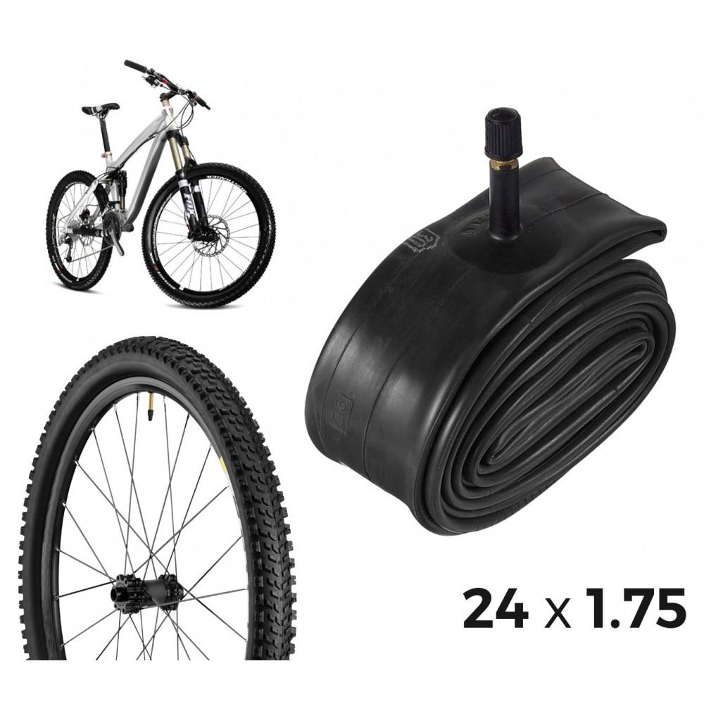 Camera d'aria per la bicicletta 304550 riparazione forature 24 x 1.75