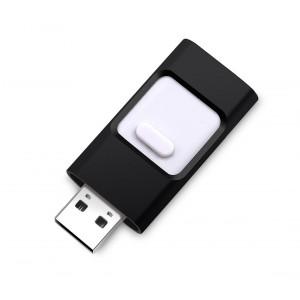 Image of Pendrive usb 3 in 1 connettori lightning micro usb 32 GB flash drive storage 7106894971846