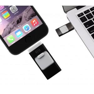 Pendrive usb 3 in 1 connettori lightning micro usb 32 GB flash drive storage