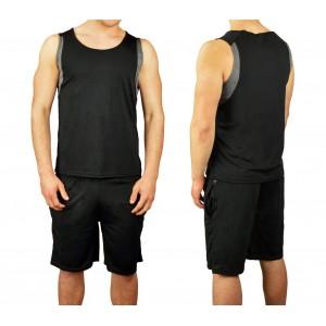 Completo sportivo da uomo ALTHANIUS pantaloncini e canotta dalla S alla XL