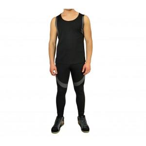 Image of Completo sportivo da uomo URANO pantaloni e canotta dalla S alla XL 7106898696226
