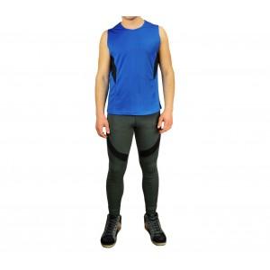 Image of Completo sportivo da uomo modello ERIS canotta e pantaloni lunghi 7106894280009