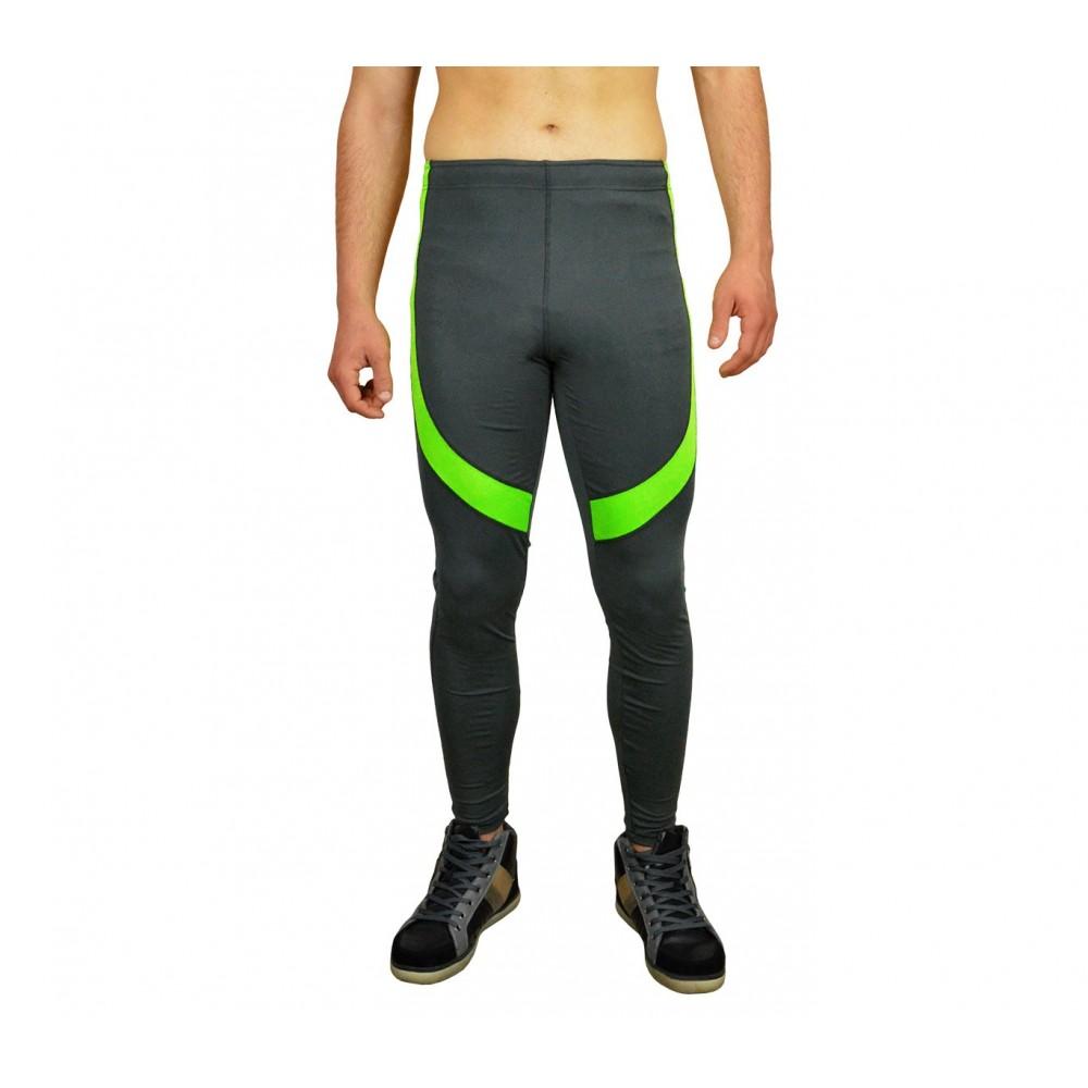 Pantaloni per lo sport da uomo KZ-327 con inserti colorati tessuto traspirante