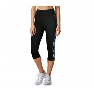 Image of Leggings sportivo al polpaccio KZ-290 da donna in tessuto traspirante vita alta 7106896382855