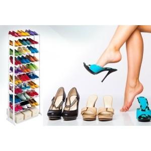 Image of Scarpiera shoes rack amazing 30 paia nuovo salvaspazio organizer ripostiglio 7106893582890