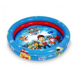 Piscina gonfiabile per bambini PAW PATROL 7452 due anelli diametro 90 cm
