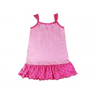 Vestito per bambina in cotone FROZEN con Elsa ed Anna 2200001968 da 3 a 7 anni