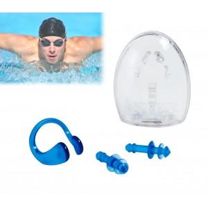 Set tappa orecchie e stringi naso per il nuoto 55609 INTEX misura unica