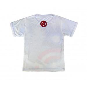 T-shirt da bambino AVENGERS in cotone 2200001986 trama traforata 6-8-10-12 anni
