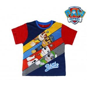 T-shirt da bambino in cotone PAW PATROL 2200001945 taglie da 2 a 6 anni