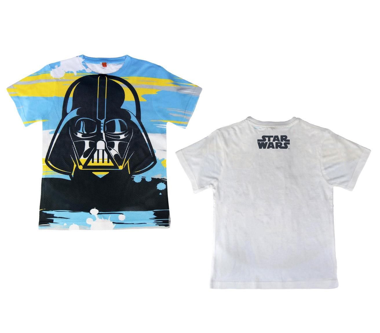 T-shirt-da-bambino-Darth-Fener-STAR-WARS-2200001958-traforata-dagli-8-ai-14-anni miniatura 8