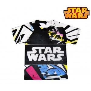 T-shirt da bambino STAR WARS 220001984 in cotone traforata dai 6 ai 12 anni