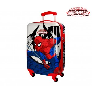 Trolley bagaglio a mano rigido SPIDERMAN 2161761 in ABS 55 x 33 x 20 cm