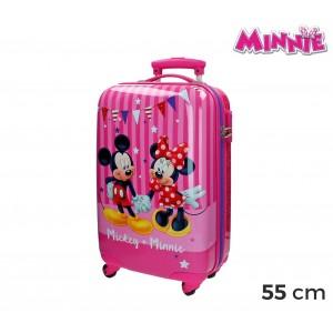 Image of 2691451 Trolley bagaglio a mano rigido in ABS Minnie & MICKEY MOUSE 34x55x20cm 7106897523752
