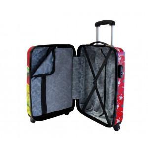 2111751 Trolley bagaglio a mano rigido in ABS TARTARUGHE NINJA 37 x 55 x 20 cm