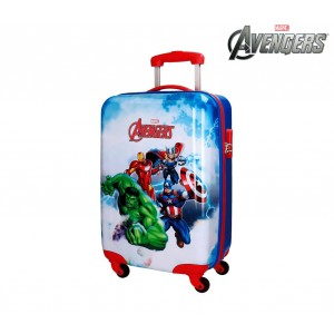 Image of 2111761 Trolley bagaglio a mano rigido in ABS THE AVENGERS 37x55x20cm 7106893285951