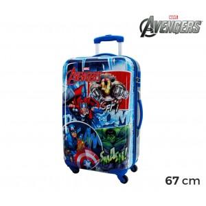 Image of 2431551 Trolley da viaggio bagaglio rigido in ABS THE AVENGERS 42 x 67 x 24 cm 7106899516370