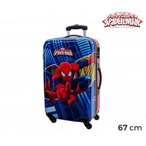 Image of 2451551 Trolley da viaggio bagaglio rigido in ABS di SPIDERMAN 42 x 67 x 24 cm 7106894974762