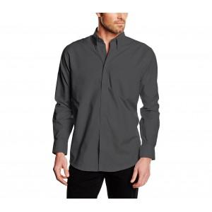 Image of Camicia da uomo modello ALEX regular fit in cotone colletto classico vari colori 7106894478680
