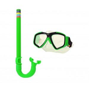 Image of Kit maschera e boccaglio per bambini regolabile EVERTOP art. 256596 7106896292277
