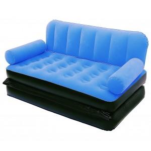 67356 Divano relax due in uno letto gonfiabile 2 posti BESTWAY 188 x 152 x 64cm