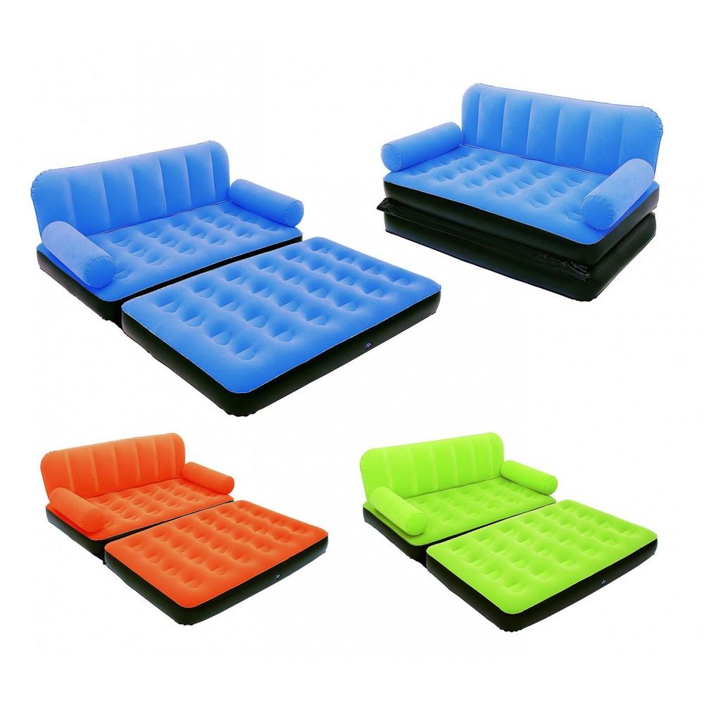 67356 divano relax due in uno letto gonfiabile 2 posti - Divano letto 2 posti mercatone uno ...