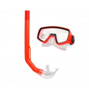 256459 Kit maschera e boccaglio per bambini regolabile Evertop in vari colori