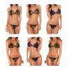 Completino lingerie sexy art. VF651 modello bikini due pezzi con fiocchi