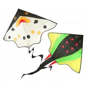 420103 Aquilone gioco per bambini in due varianti facile da usare 117 x 78 cm