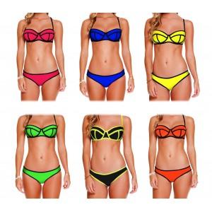 Costume bikini MWS Ahead mod NEO effetto 3D con coppa imbottita swimwear mare