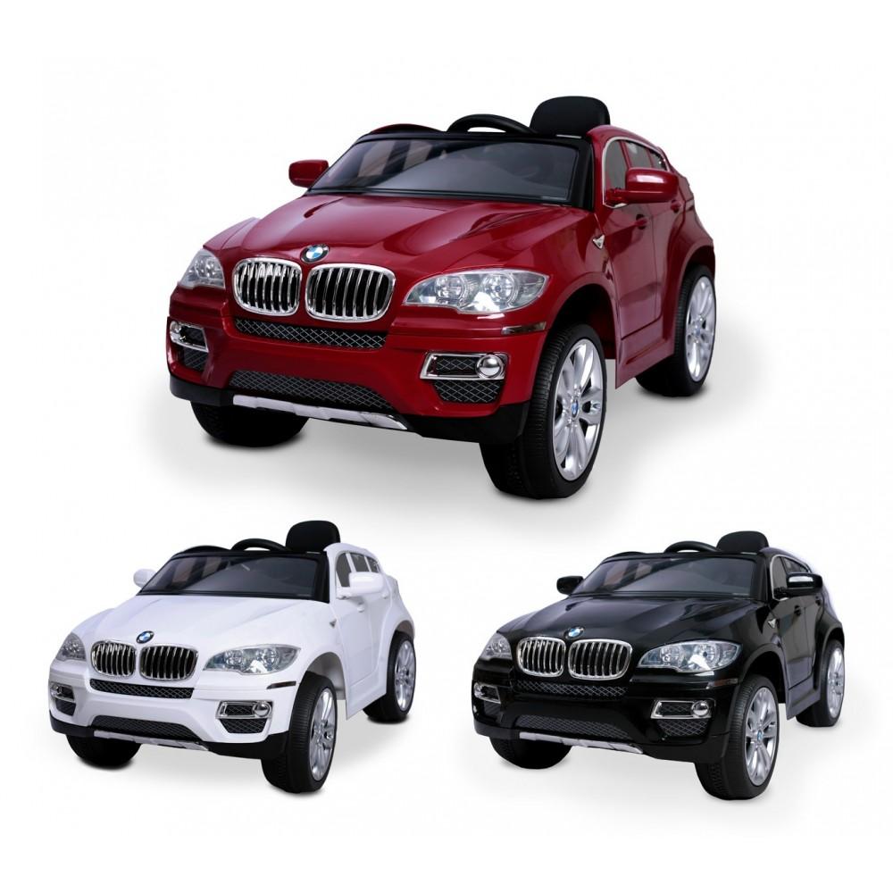 Macchina elettrica LT847 per bambini BMW X6 monoposto 12V con telecomando