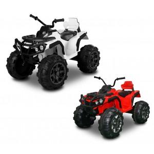 LT 865 Quad ATV elettrico per bambini monoposto 12V due motori 103 x 68 x 73cm