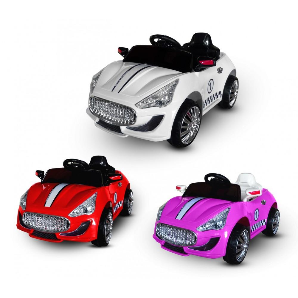 Macchina elettrica LT869 per bambini Auto sport monoposto 6V luci e suoni