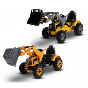 LT 843 Escavatori elettrici per bambini monoposto 12V trattore con suoni