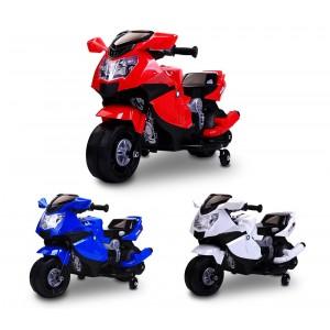 LT 862 Moto da corsa per bambini elettrica 6V con luci e suoni realistici