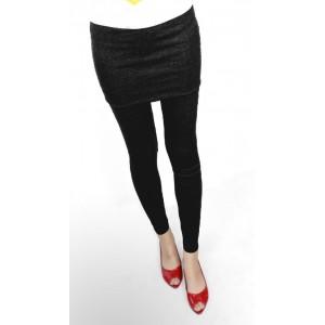 Image of Leggings con gonna SKEGGINGS leggins taglia unica fuseaux 8020967834564