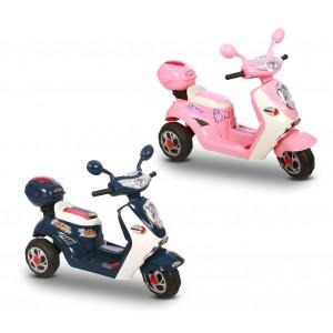 LT 807 Scooter elettrico per bambini TREND 6V con luci e suoni realistici