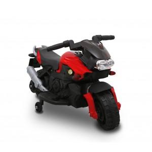 LT 868 Moto elettrica per bambini SPRINT controllo a pedale con luci e suoni