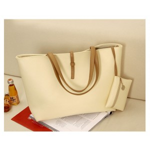 Image of Borsa a mano shopping bag MWS AHEAD modello Carol da spalla donna 8023465103453