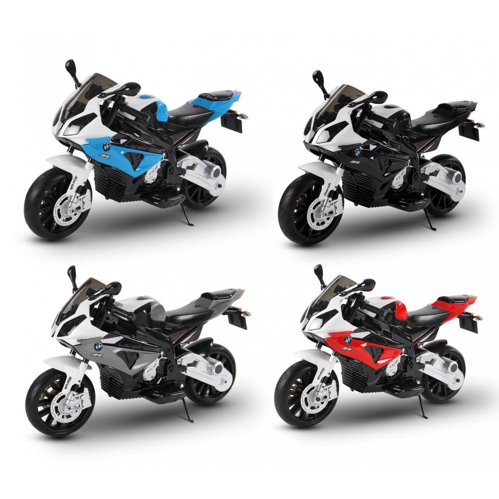 Moto elettrica LT832 per bambini BMW sedile in pelle accensione con chiave