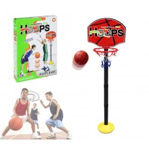 401269 Playset basket per bambini canestro regolabile in altezza con palla