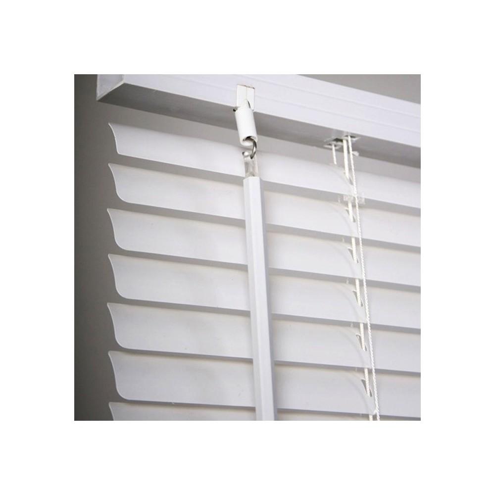 MEDIA WAVE store 007774 Tenda da Sole Veneziana Grigia 120 x 160 cm per Interno in PVC