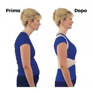 70098 Supporto fascia posturale BEST POSTURE schiena e spalle unisex in neoprene