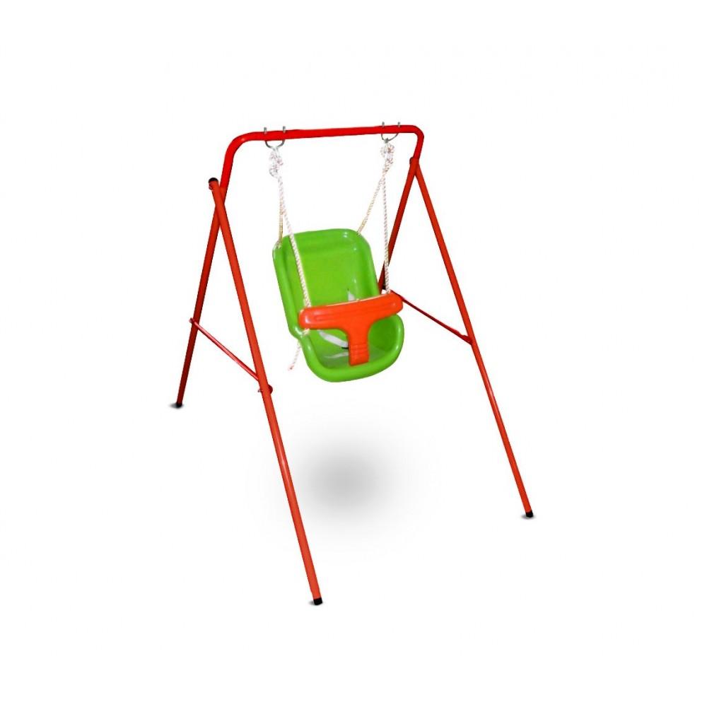 355381 Altalena da giardino per bambini CIGIOKI fissa 113 x 103 x 95 cm